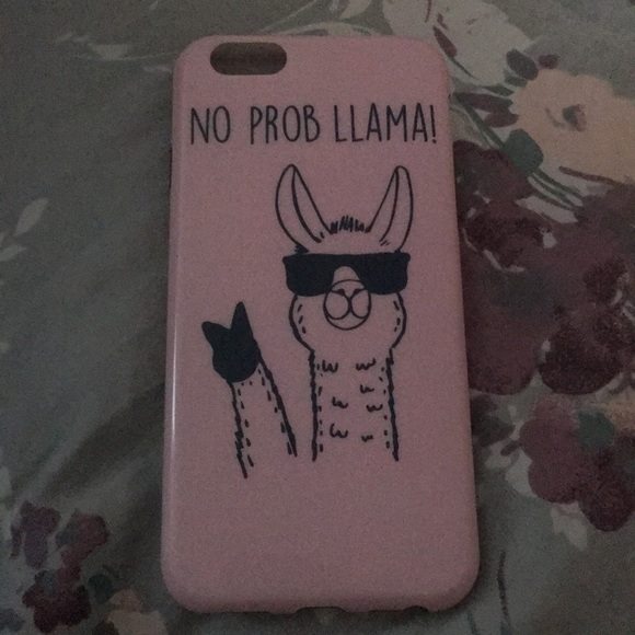 newest 842e1 f55ab No prob llama phone case for iPhone 6s